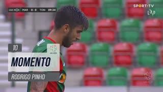 Marítimo M., Jogada, Rodrigo Pinho aos 10'
