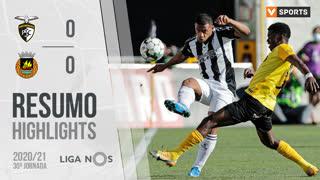 I Liga (30ªJ): Resumo Portimonense 0-0 Rio Ave FC