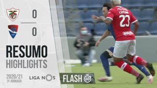 I Liga (3ªJ): Resumo Flash Santa Clara 0-0 Gil Vicente FC