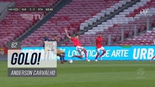 GOLO! Santa Clara, Anderson Carvalho aos 62', SL Benfica 1-1 Santa Clara