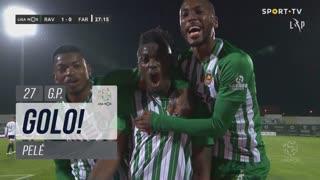 GOLO! Rio Ave FC, Pelé aos 27', Rio Ave FC 1-0 SC Farense