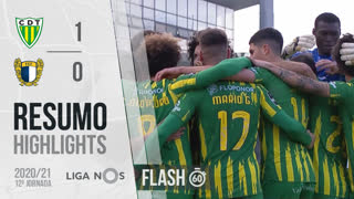 I Liga (12ªJ): Resumo Flash CD Tondela 1-0 FC Famalicão