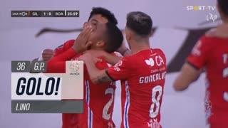 GOLO! Gil Vicente FC, Lino aos 36', Gil Vicente FC 1-0 Boavista FC