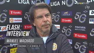 """Manuel Machado: """"É um resultado que mente"""""""