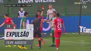 Rio Ave FC, Expulsão, Filipe Augusto aos 74'