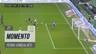 Sporting CP, Jogada, Pedro Gonçalves aos 22'