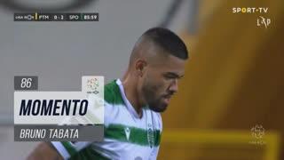 Sporting CP, Jogada, Bruno Tabata aos 86'