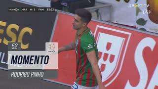 Marítimo M., Jogada, Rodrigo Pinho aos 52'