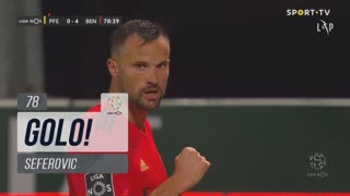 GOLO! SL Benfica, Seferovic aos 78', FC P.Ferreira 0-4 SL Benfica