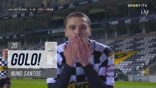GOLO! Boavista FC, Nuno Santos aos 20', Boavista FC 1-0 Santa Clara