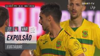 FC P.Ferreira, Expulsão, Eustáquio aos 22'