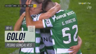 GOLO! Sporting CP, Pedro Gonçalves aos 90'+6', Sporting CP 3-1 Gil Vicente FC