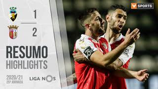 Liga NOS (25ªJ): Resumo SC Farense 1-2 SC Braga