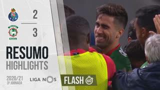 I Liga (3ªJ): Resumo Flash FC Porto 2-3 Marítimo M.