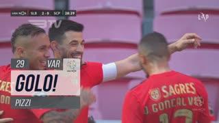 GOLO! SL Benfica, Pizzi aos 29', SL Benfica 2-0 Sporting CP