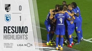 Liga NOS (1ªJ): Resumo Vitória SC 0-1 Belenenses SAD