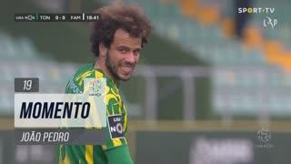 CD Tondela, Jogada, João Pedro aos 19'