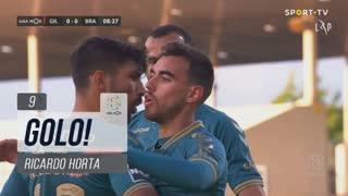 GOLO! SC Braga, Ricardo Horta aos 9', Gil Vicente FC 0-1 SC Braga