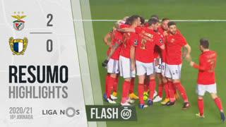 I Liga (18ªJ): Resumo Flash SL Benfica 2-0 FC Famalicão