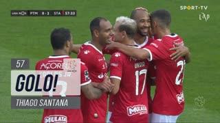 GOLO! Santa Clara, Thiago Santana aos 57', Portimonense 0-2 Santa Clara