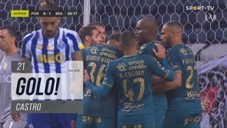 GOLO! SC Braga, Castro aos 21', FC Porto 0-1 SC Braga
