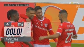 GOLO! Santa Clara, Rui Costa aos 47', Santa Clara 3-0 CD Nacional