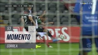 Marítimo M., Jogada, Correa aos 53'