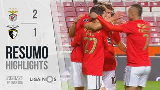 Liga NOS (11ªJ): Resumo SL Benfica 2-1 Portimonense