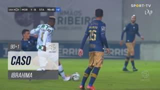 Moreirense FC, Caso, Ibrahima aos 90'+1'