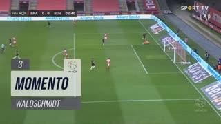 SL Benfica, Jogada, Waldschmidt aos 3'