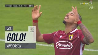 GOLO! FC Famalicão, Anderson aos 32', CD Nacional 0-1 FC Famalicão