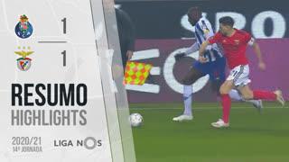 I Liga (14ªJ): Resumo FC Porto 1-1 SL Benfica