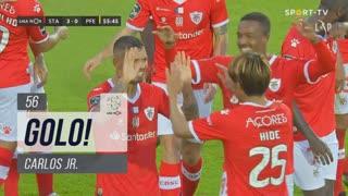 GOLO! Santa Clara, Carlos Jr. aos 56', Santa Clara 3-0 FC P.Ferreira