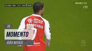 SC Braga, Jogada, João Novais aos 78'