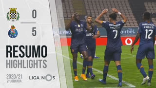 I Liga (2ªJ): Resumo Boavista FC 0-5 FC Porto