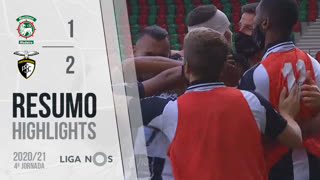 I Liga (4ªJ): Resumo Marítimo M. 1-2 Portimonense