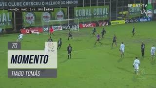 Sporting CP, Jogada, Tiago Tomás aos 70'