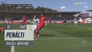 Moreirense FC, Penálti, Rafael Martins aos 18'