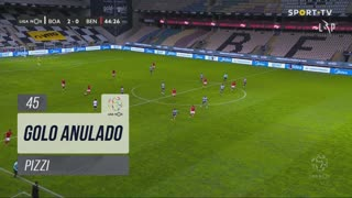 SL Benfica, Golo Anulado, Pizzi aos 45'