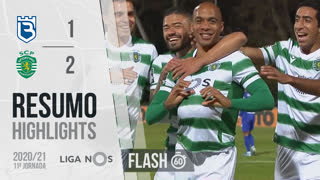 Liga NOS (11ªJ): Resumo Flash Belenenses SAD 1-2 Sporting CP