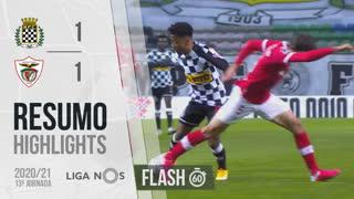 I Liga (13ªJ): Resumo Flash Boavista FC 1-1 Santa Clara