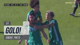 GOLO! SC Farense, André Pinto aos 51', CD Nacional 0-1 SC Farense