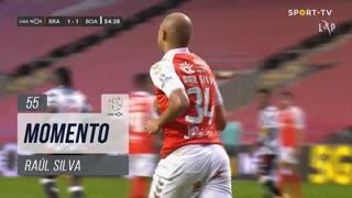 SC Braga, Jogada, Raúl Silva aos 55'