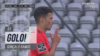 GOLO! SL Benfica, Gonçalo Ramos aos 81', CD Nacional 1-2 SL Benfica