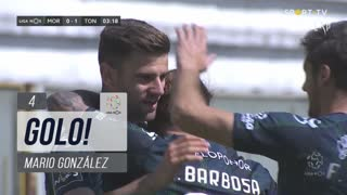 GOLO! CD Tondela, Mario González aos 4', Moreirense FC 0-1 CD Tondela