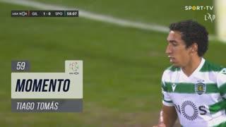 Sporting CP, Jogada, Tiago Tomás aos 59'