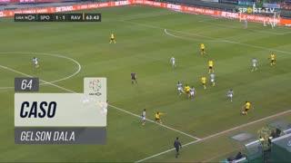 Rio Ave FC, Caso, Gelson Dala aos 64'