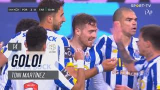 GOLO! FC Porto, Toni Martínez aos 14', FC Porto 2-0 SC Farense