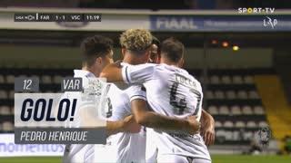 GOLO! SC Farense, Pedro Henrique aos 12', SC Farense 1-1 Vitória SC