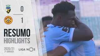 I Liga (2ªJ): Resumo SC Farense 0-1 CD Nacional